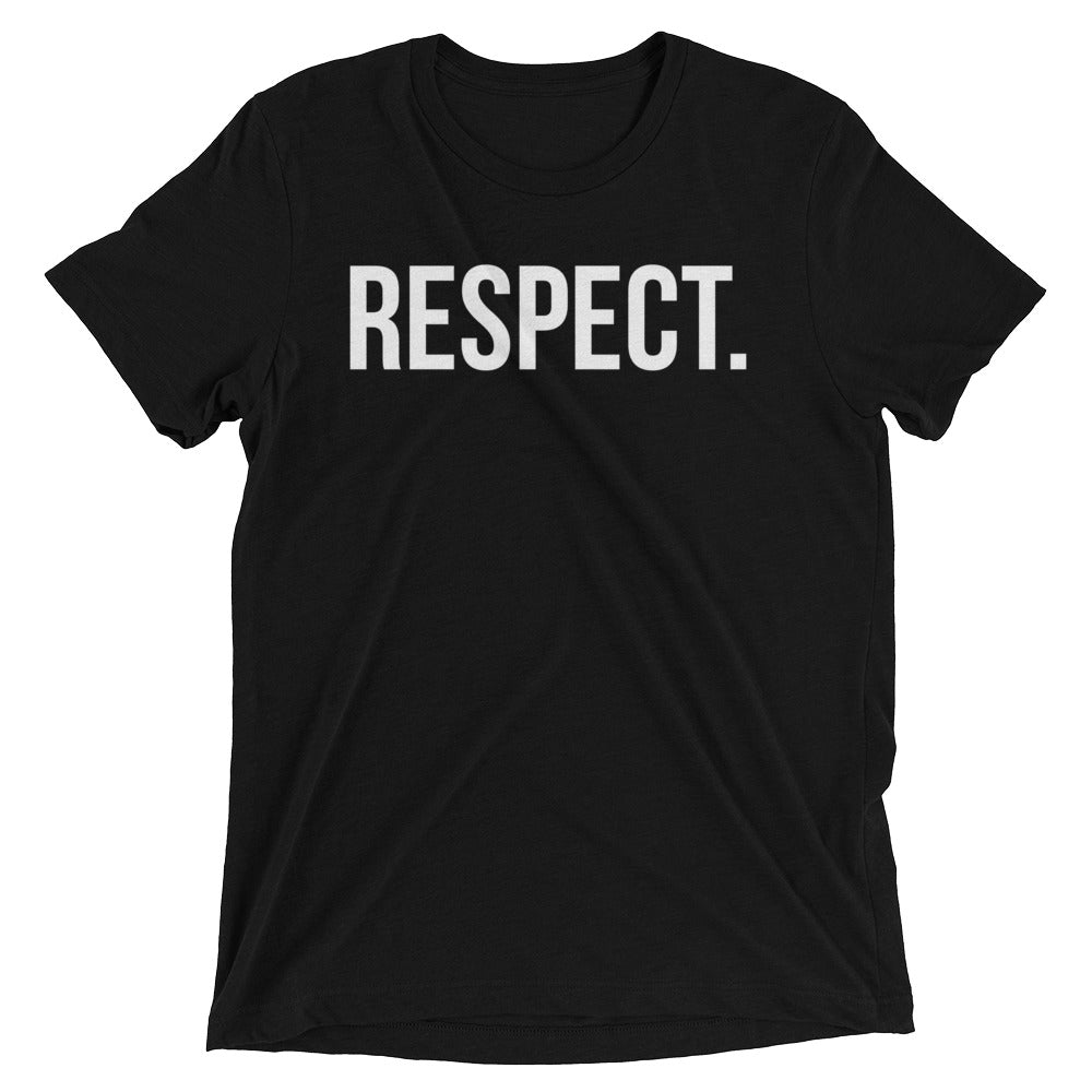 RESPECT. Short sleeve t-shirt