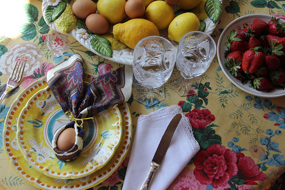 serà fine silk - easter table