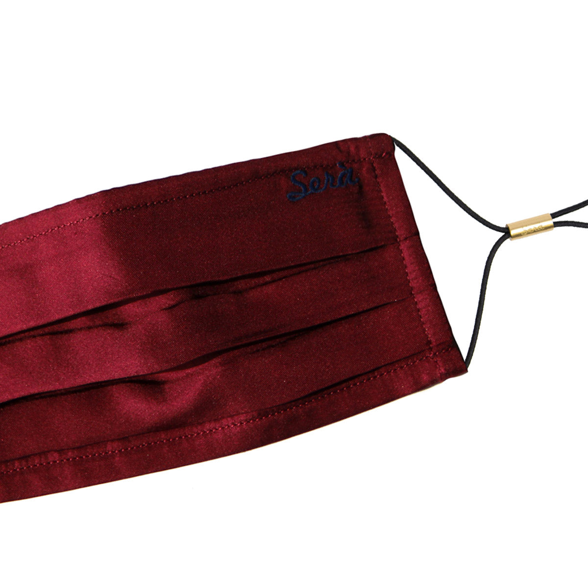 serà fine silk - burgundy face cover