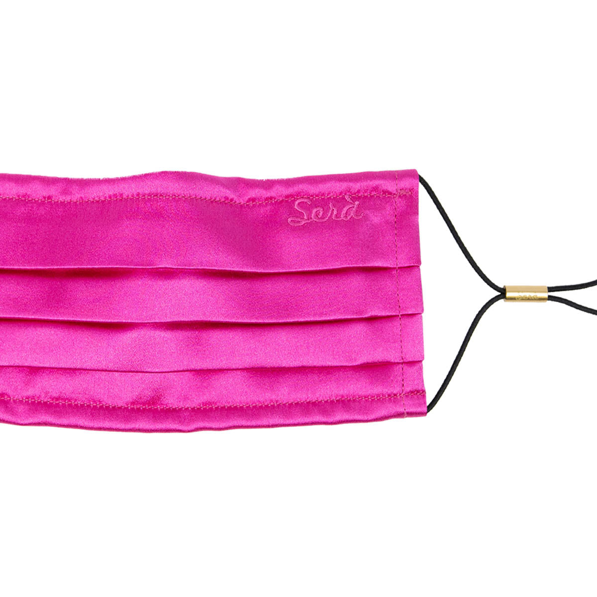 serà fine silk - Pink Silk Satin face cover