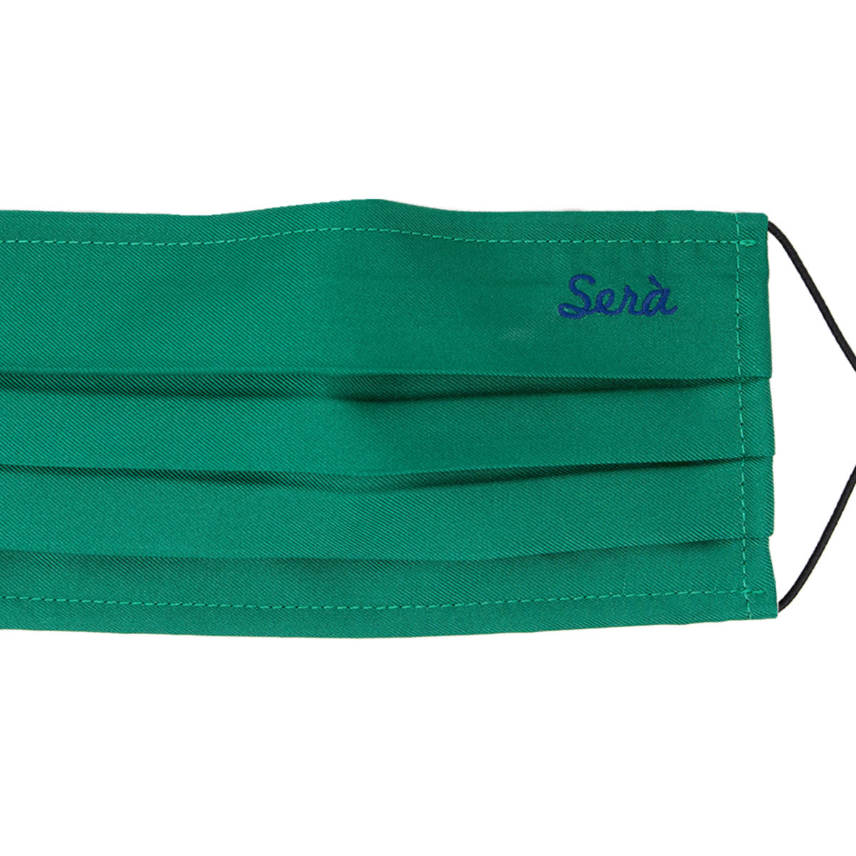 serà fine silk - face cover emerald green