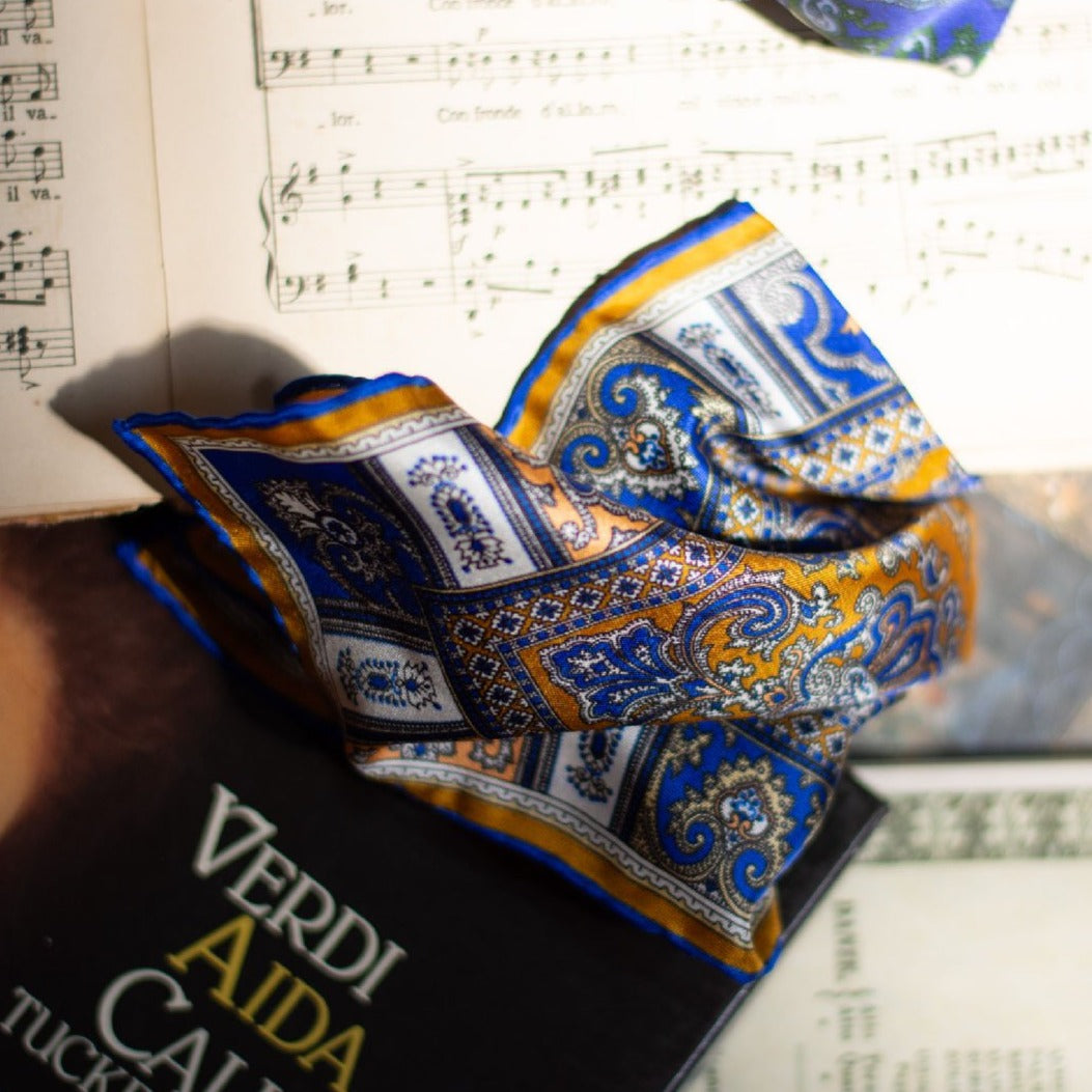 serà fine silk - pocket square Otello