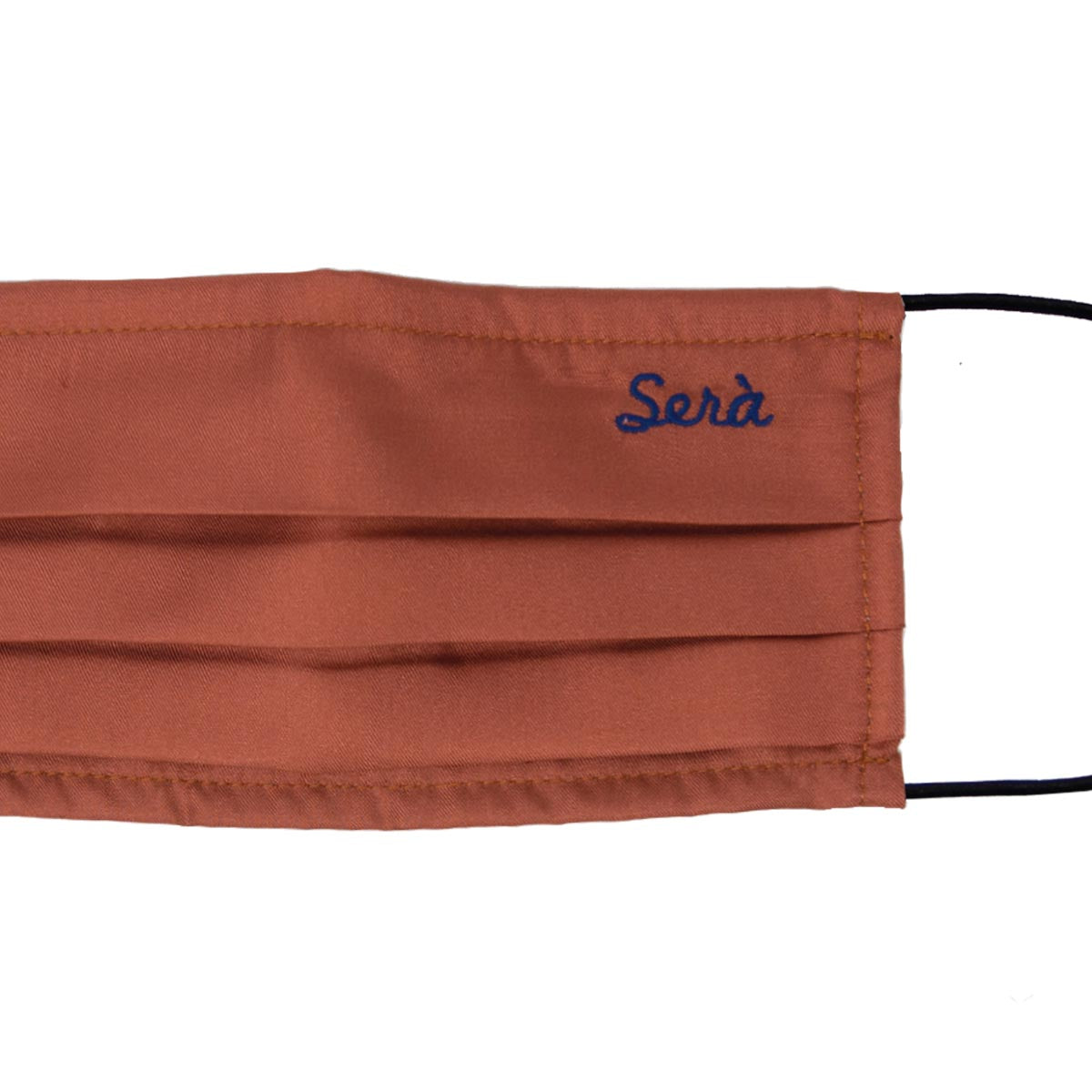 serà fine silk - Rust Silk face cover