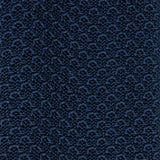 serà fine silk - navy blue knitted tie