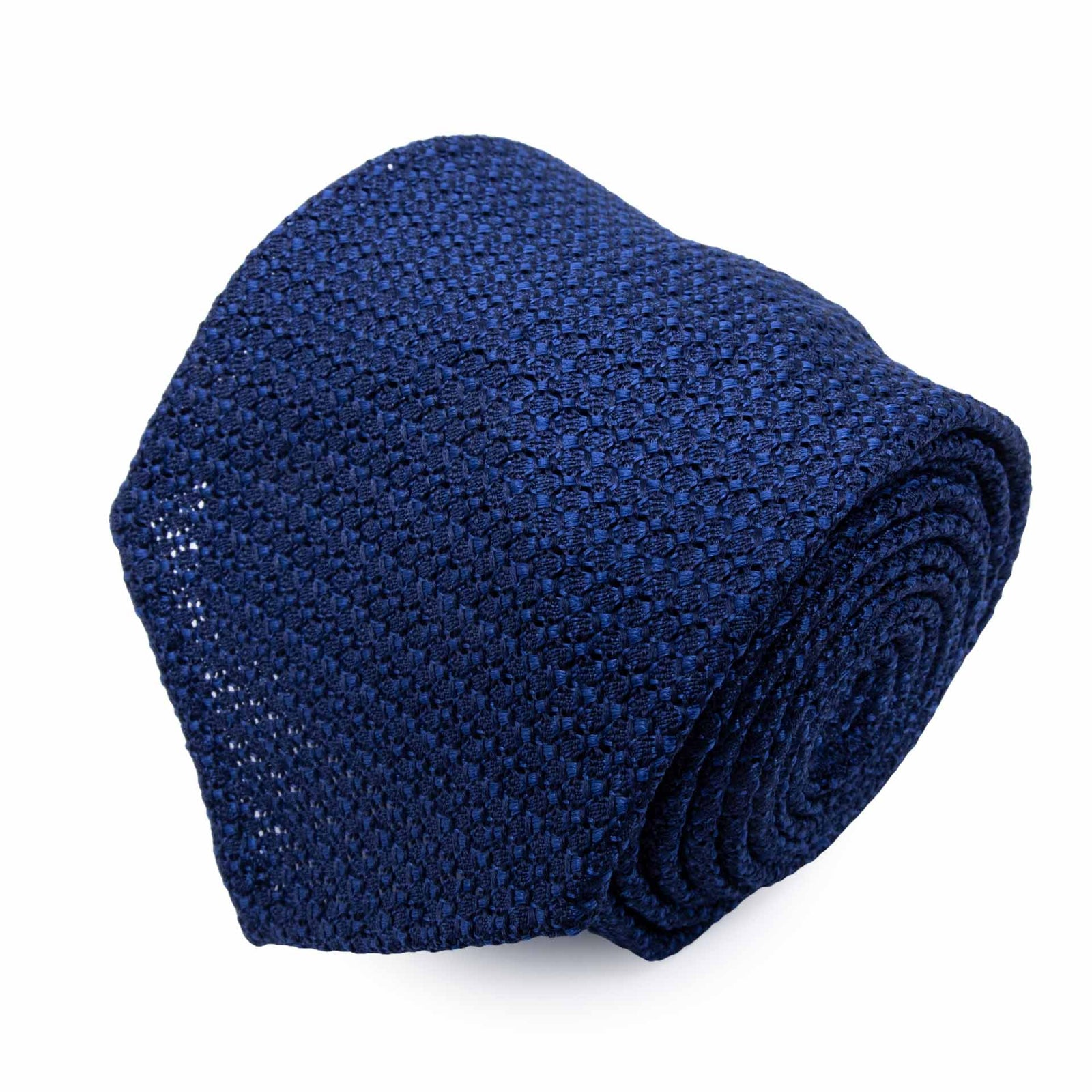 Light Blue Grenadine Silk Tie - serafinesilk