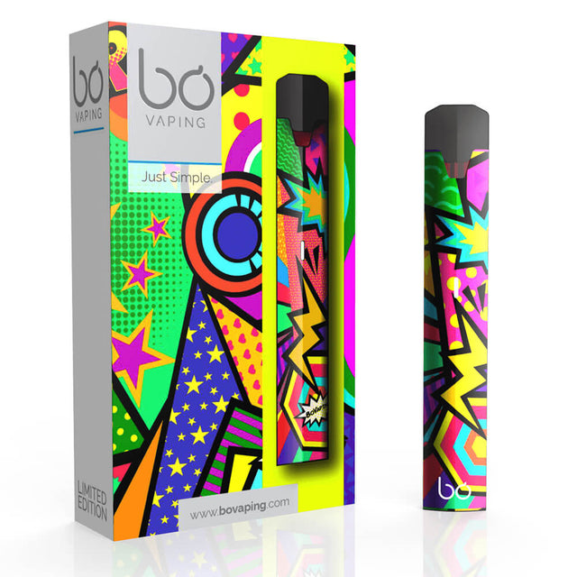 Limited Edition Pop Art Kit with 2 Pods