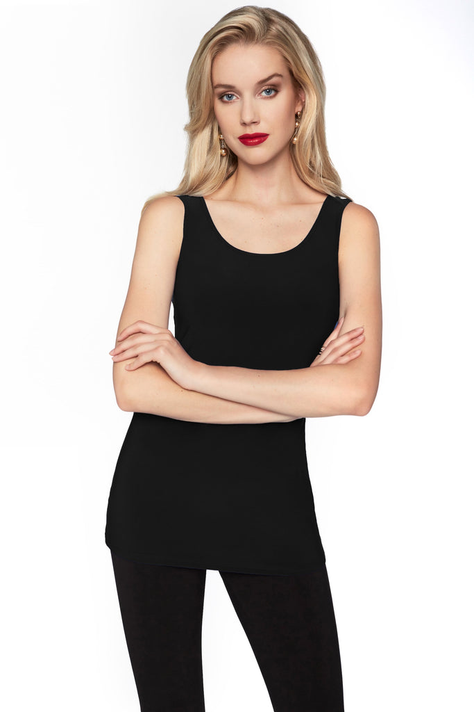 Camisole en Knit Frank Lyman - 010 BLACK - Gaby Style & Passion