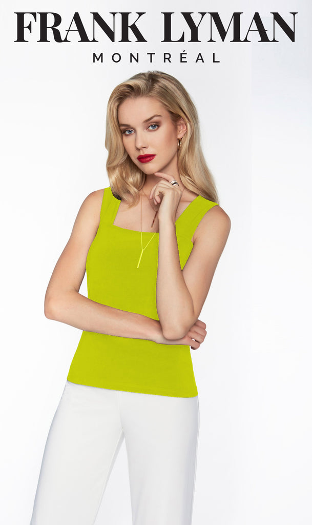 Camisole en Knit Frank Lyman - 054 APPLE - Gaby Style & Passion