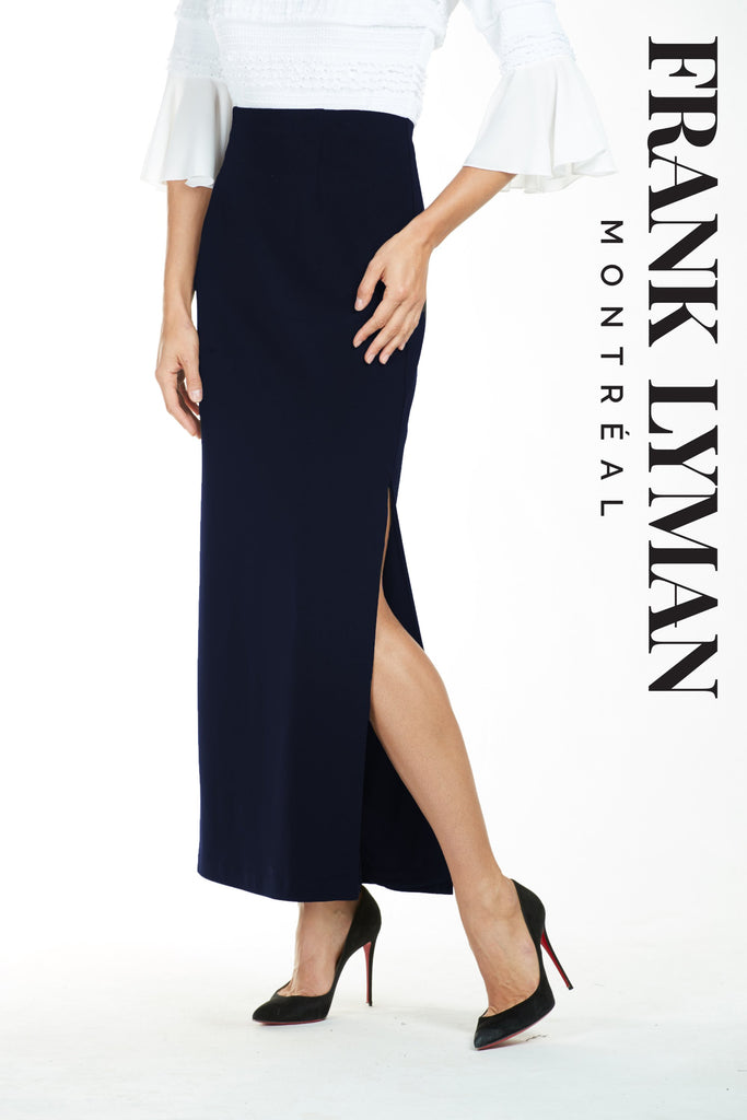 Jupe en Knit Frank Lyman - 073 MIDNIGHT - Gaby Style & Passion