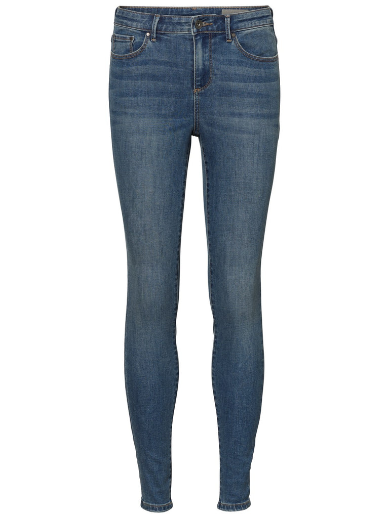 JEANS VERO MODA - 10199109 MEDIUM BLEU