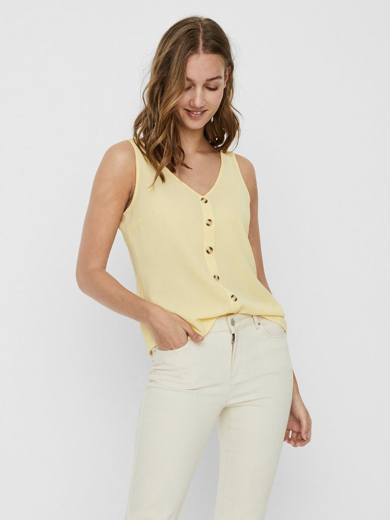 Blouse Vero Moda - 10228474 BANANA CREAM