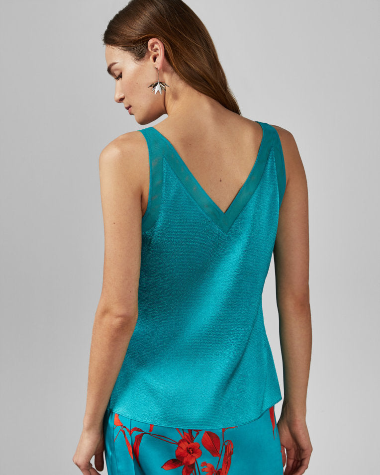 CAMISOLE TED BAKER - 153562 TURQUOISE