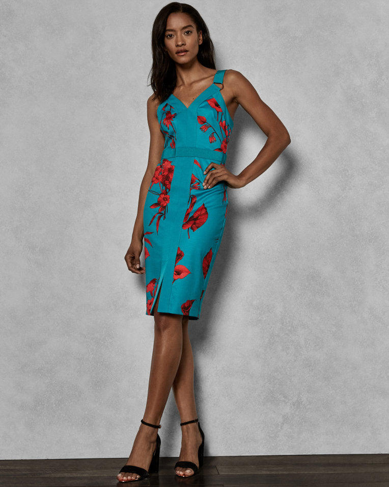 ROBE TED BAKER - 154925 TURQUOISE