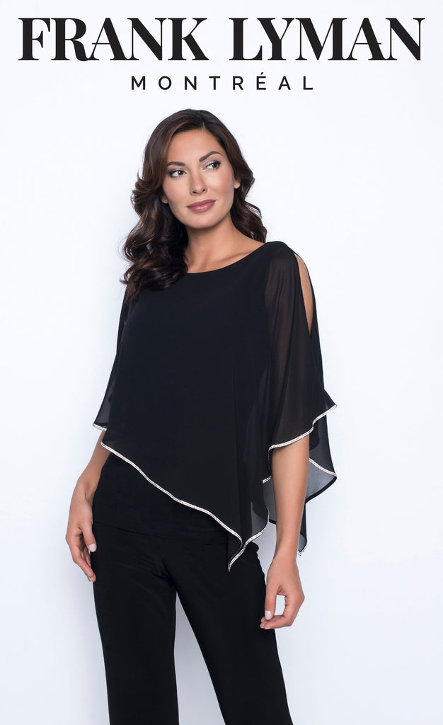 Blouse Frank Lyman - 185420 BLACK - Gaby Style & Passion