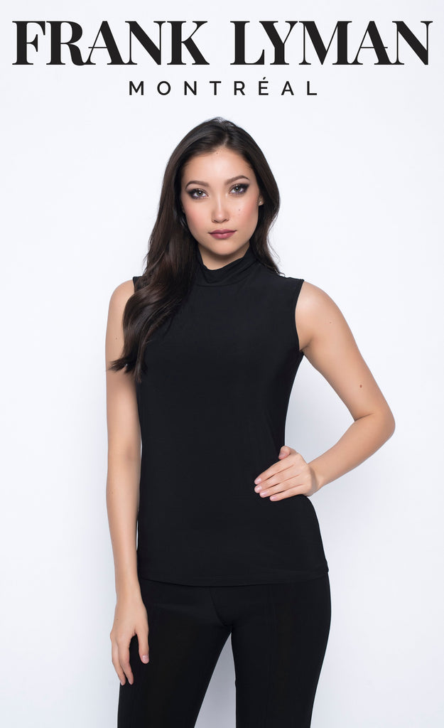 Camisole en Knit Frank Lyman - 193008 BLACK - Gaby Style & Passion