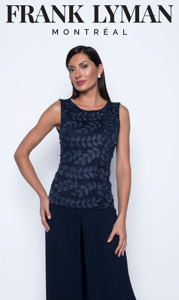Camisole en Knit Frank Lyman - 208015 MIDNIGHT - Gaby Style & Passion