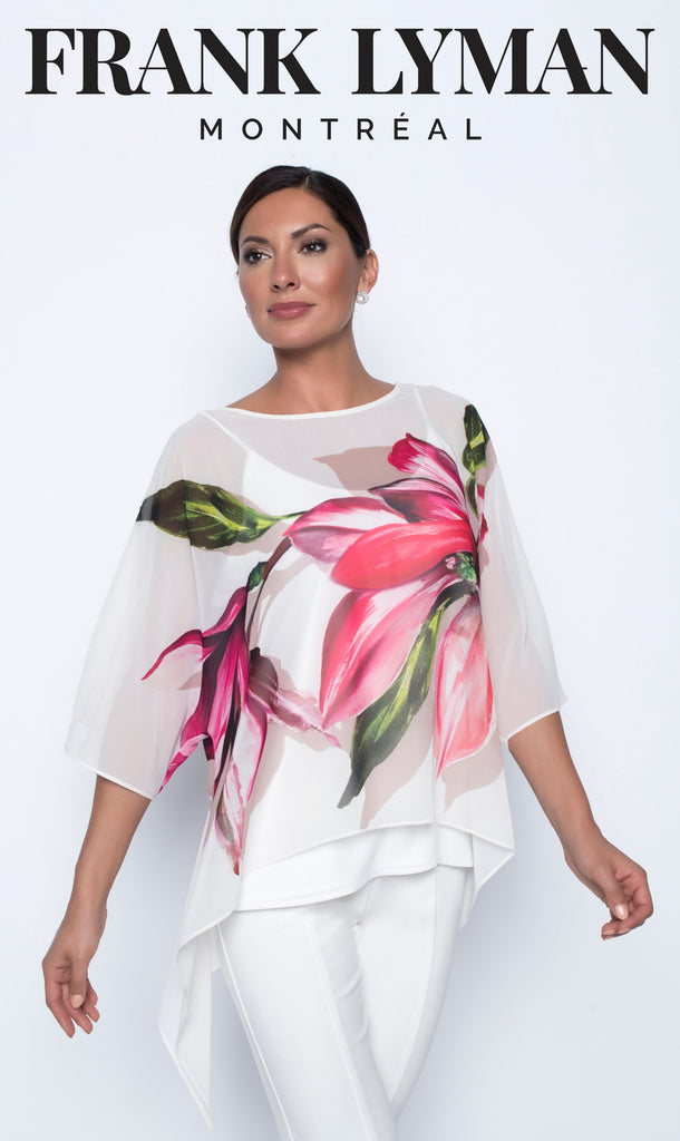 Blouse Frank Lyman - 208408 OFFW/FUS - Gaby Style & Passion