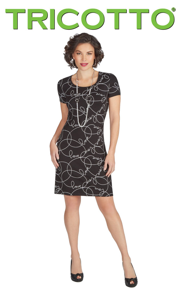 Robe Tricotto - C131 couleur AS - Boutique Gaby