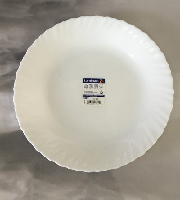 Luminarc White Dinner Plate 10