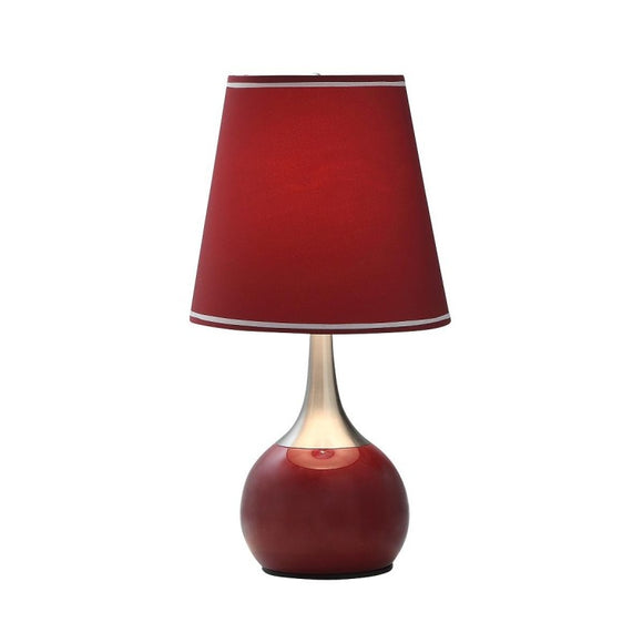 Touch Lamp Burgundy