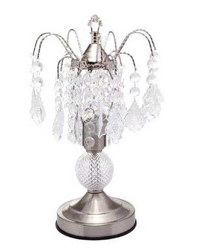 Hanging Crystals Table Lamp 16