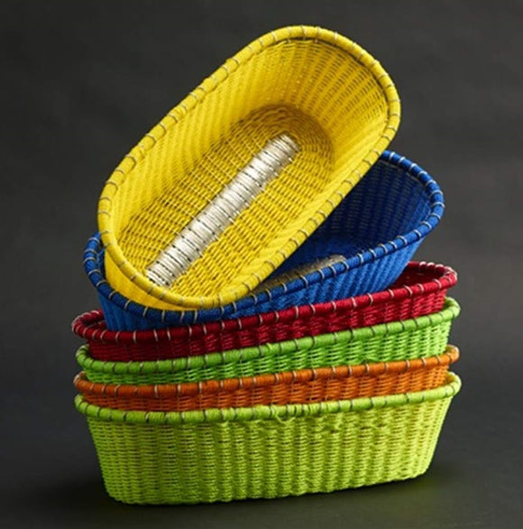Vibrant Oblong Baskets