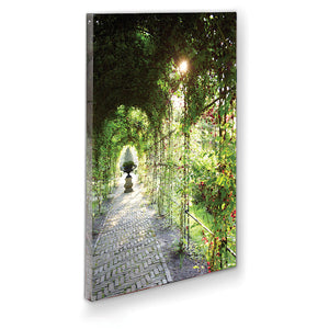 Arch Walkway Wall Canvas