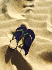 Flip Flops can lead to dry skin on your feet