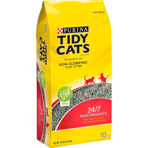 Tidy Cats Non Clumping 24/7 Performance MultiCat Long Lasting Odor Control Cat Litter