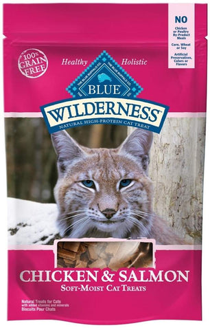 Blue Buffalo Wilderness Chicken and Salmon Cat Treats