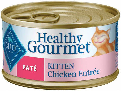 Blue Buffalo Healthy Gourmet Kitten Chicken Entree Canned Cat Food