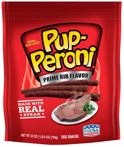 Pup-Peroni Prime Rib Flavor Dog Treats