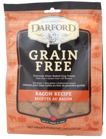Darford Grain Free Bacon Recipe Oven Baked Dog Treats