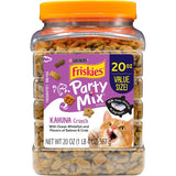 Friskies Party Mix Crunch Kahuna Chicken, Salmon, & Crab Cat Treats