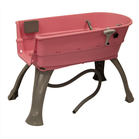 Booster Bath Elevated Pink Pet Bath