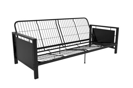 the latest 4d87c 7ce0a Henley Metal Arm Futon Frame (Twin Size)
