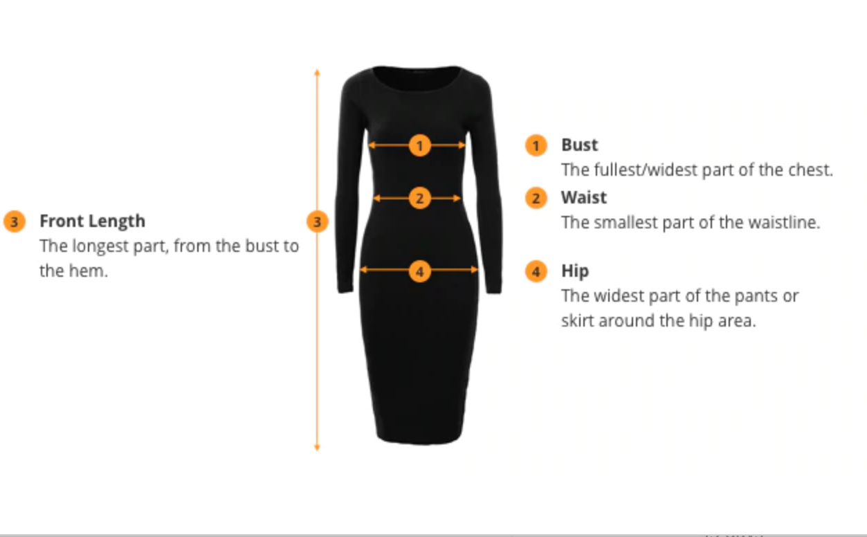 fd89e4b2160 To choose the correct size for you measure your body as follows. Once you  know your body measurements