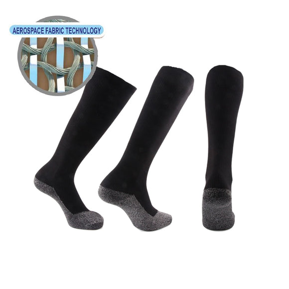 35 Below Compression socks 20-30 mmhg (1-2-3 pairs) - Aluminized Fibers tUnique Ultimate Comfort Socks for Keep your foot warm