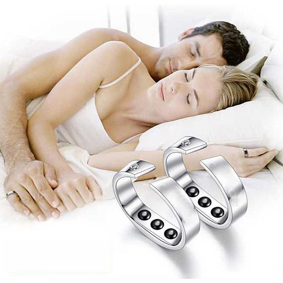 Anti Snoring Magnetic Ring Snoring Stopper Acupressure Therapy Treatment