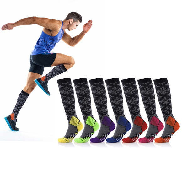 Compression Socks Men; Women (20-30 mmHg) Best Graduated Athletic Fit Running