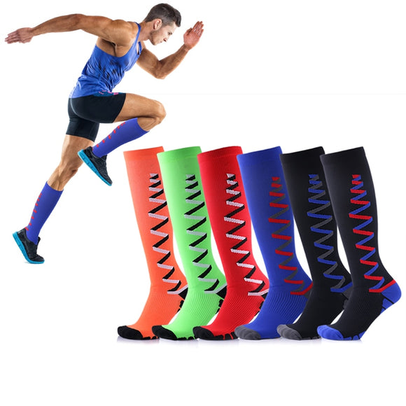 Compression Socks Men; Women Fit Running, Nurses, Flight Travel; Maternity Pregnancy