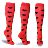 Compression stockings high quality Outdoor sport Various patterns Man; Women