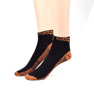 Copper-lnfused Ankle Length socks Compression Socks for Women and Men Sport