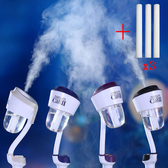 Durable Mini Car Humidifier Air Oil Aroma Mist Diffuser Purifier 2 USB Ports 12V Car Charger USB