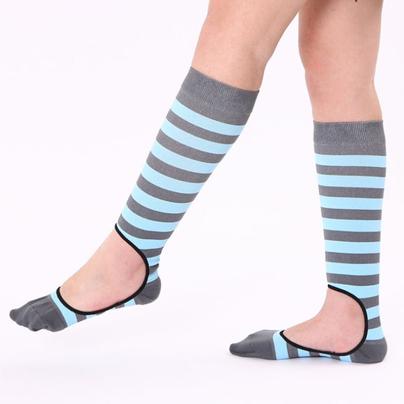 Invisible Compression Socks for Men; Women New Creative Running Flight Travel