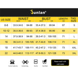 Junlan Body Shaper for Men Neoprene Slimming Shapewear Elastic Sauna Suit Male