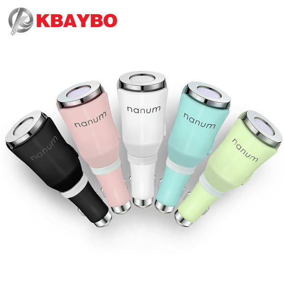 KBAYBO Car diffuser mini Aromatherapy Mat Diffuser with Dual Power USB and Car
