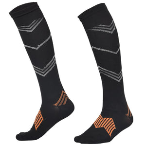 Men's Outdoor Sports Compression Stockings for Basketball Jogging Running 15-20 MmHg