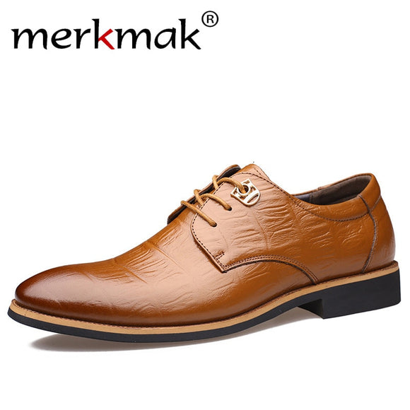 Luxury Brand Men Flats Fashion High Quality Genuine Leather Shoes