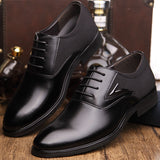 Merkmak Big Size 48 Men Formal Wedding Party Dress Shoes Black Brown Designer